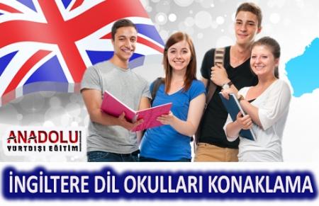 İngilitere Dil Okulları Konaklama